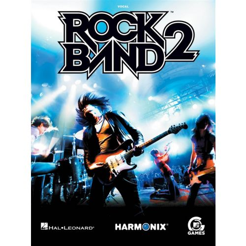 HAL LEONARD ROCK BAND 2 VOCAL LEAD SHEETS SONGBOOK - VOICE