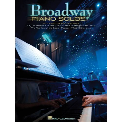 HAL LEONARD BROADWAY PIANO SOLOS - PIANO SOLO