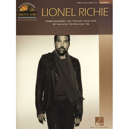 HAL LEONARD PIANO PLAY ALONG VOLUME 82 RICHIE LIONEL + CD - PVG