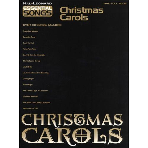 HAL LEONARD ESSENTIAL SONGS CHRISTMAS CAROLS - PVG