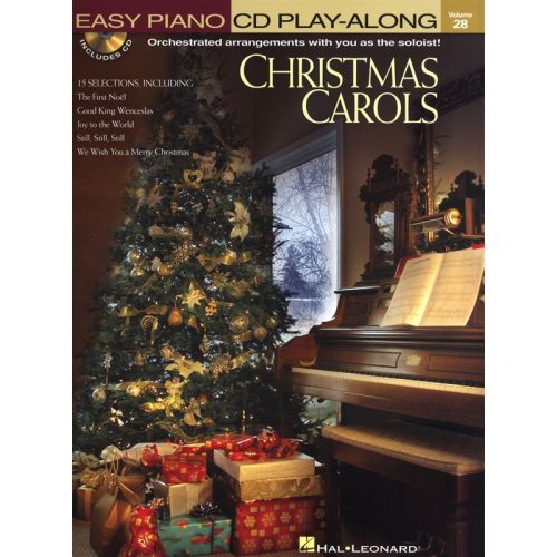 HAL LEONARD CHRISTMAS CAROLS+ CD - PIANO SOLO