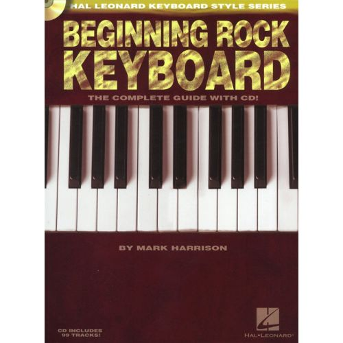 HAL LEONARD HAL LEONARD KEYBOARD STYLE BEGINNING ROCK KEYBOARD + CD - KEYBOARD