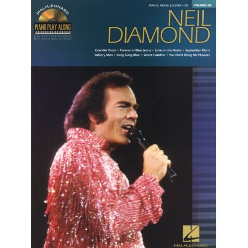 HAL LEONARD PIANO PLAY-ALONG VOLUME 88 NEIL DIAMOND PIANO + CD - PVG
