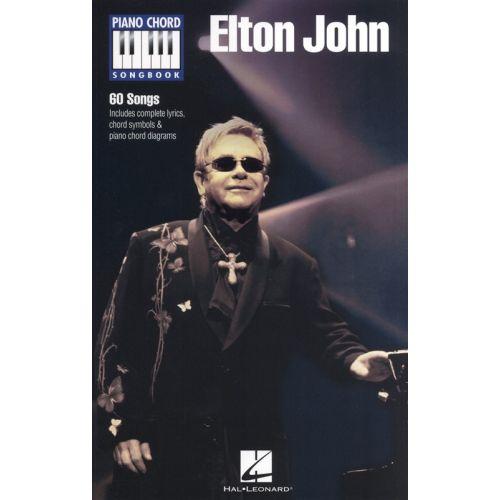 HAL LEONARD ELTON JOHN PIANO CHORD SONGBOOK PF- LYRICS AND CHORDS