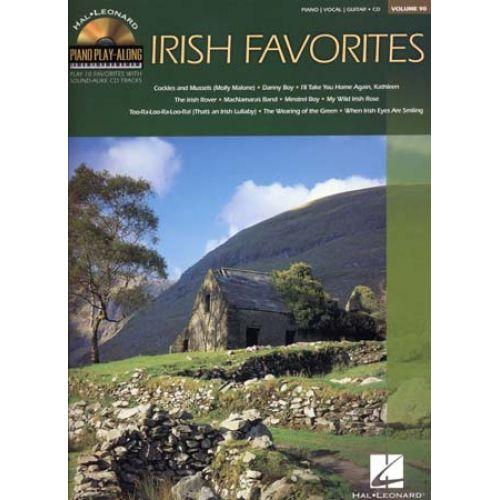 HAL LEONARD PIANO PLAY ALONG VOL.90 - IRISH FAVORITES + CD - PVG