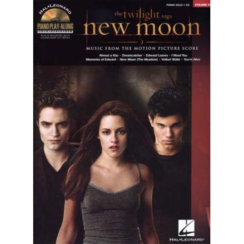 HAL LEONARD DESPLAT A. - PIANO PLAY ALONG VOL.94 - TWILIGHT NEW MOON + CD - PIANO SOLO