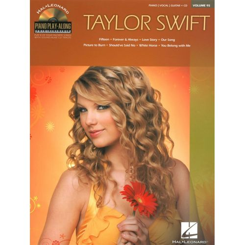 HAL LEONARD PIANO PLAY-ALONG VOLUME 95 TAYLOR SWIFT PIANO + CD - PVG