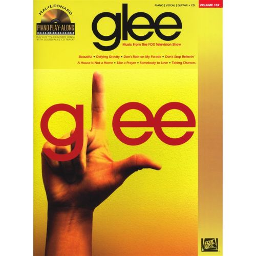 HAL LEONARD PIANO PLAY-ALONG VOLUME 102 GLEE PIANO + CD - PIANO SOLO