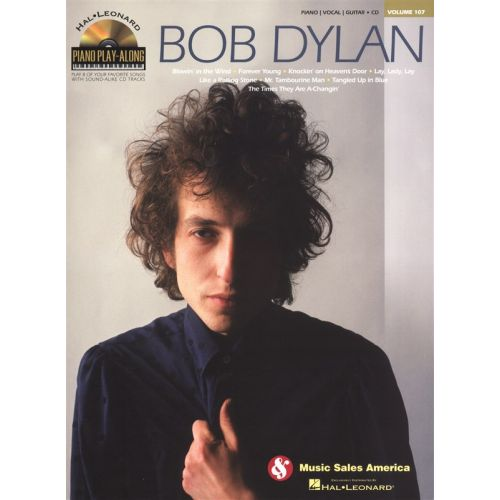 HAL LEONARD PIANO PLAY ALONG VOLUME 107 DYLAN BOB + CD - PVG