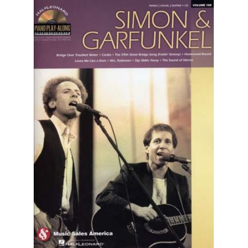 HAL LEONARD PIANO PLAY ALONG VOL.108 - SIMON & GARFUNKEL + CD - PVG