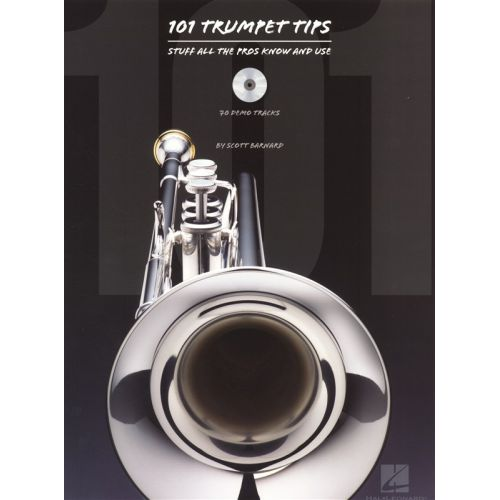 HAL LEONARD 101 TRUMPET TIPS STUFF ALL THE PROS KNOW AND USE - TRUMPET