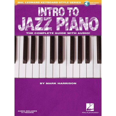 HAL LEONARD HARRISON MARK - INTRO TO JAZZ PIANO