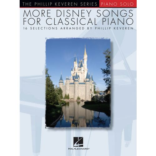 HAL LEONARD MORE DISNEY SONGS FOR CLASSICAL - PIANO SOLO