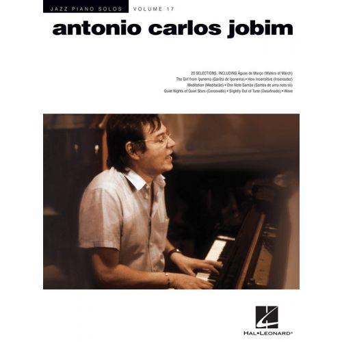 HAL LEONARD JAZZ PIANO SOLOS VOLUME 17 - JOBIM ANTONIO CARLOS - PIANO SOLO