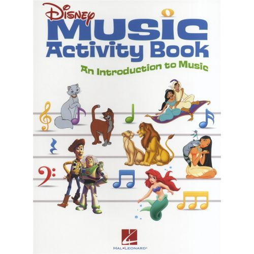 HAL LEONARD DISNEY MUSIC ACTIVITY BOOK AN INTRODUCTION TO MUSIC - FILM AND TV