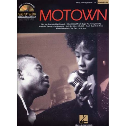 HAL LEONARD PIANO PLAY ALONG VOL.114 MOTOWN PVG + CD