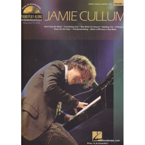 HAL LEONARD CULLUM JAMIE - PIANO PLAY-ALONG VOL.116 + CD