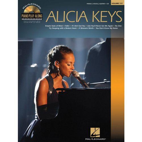 HAL LEONARD PIANO PLAY ALONG VOLUME 117 KEYS ALICIA + CD - PVG