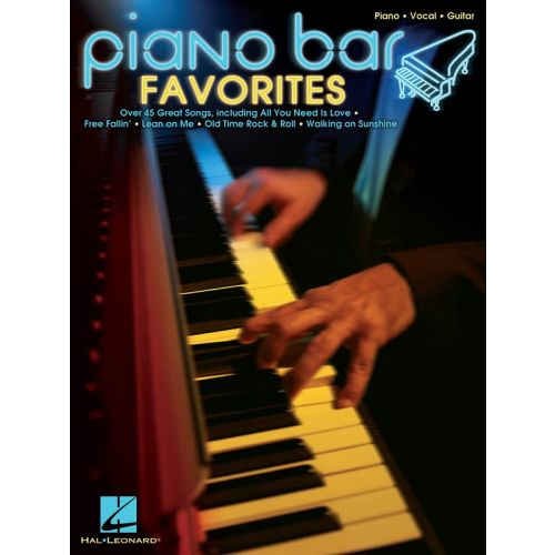 HAL LEONARD PIANO BAR FAVORITES - PVG