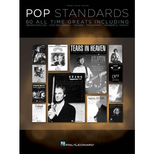 HAL LEONARD POP STANDARDS PVG SONGBOOK 60 ALL-TIME GREATS - PVG