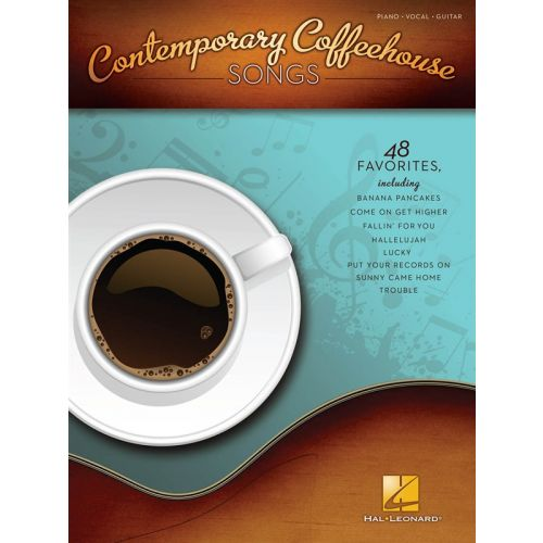 HAL LEONARD CONTEMPORARY COFFEEHOUSE SONGS - PVG