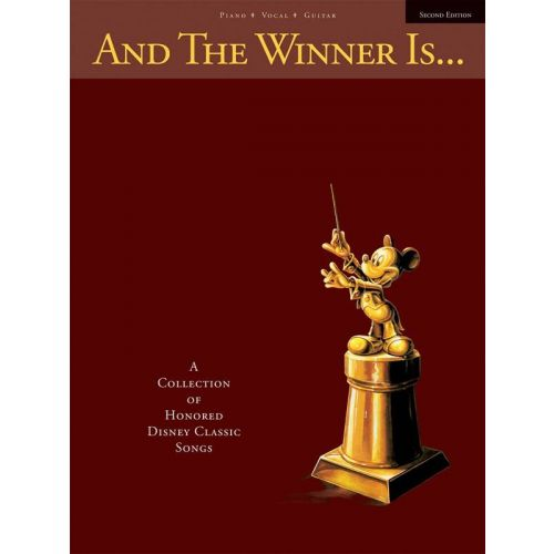 HAL LEONARD DISNEY - AND THE WINNER IS...- PVG