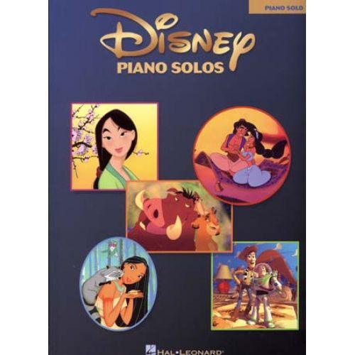 HAL LEONARD DISNEY - PIANO SOLOS