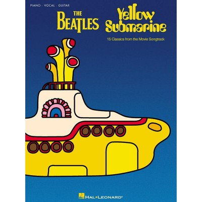 HAL LEONARD THE BEATLES - YELLOW SUBMARINE - PVG