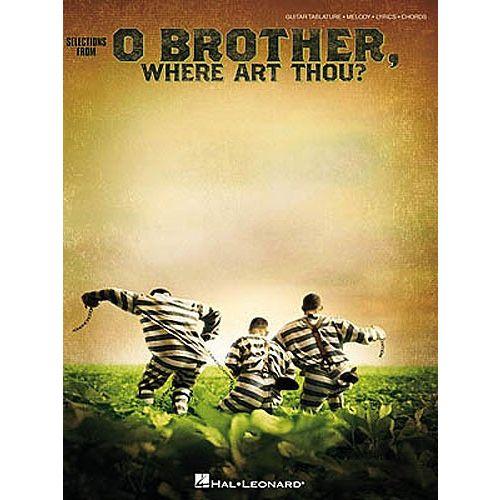HAL LEONARD O BROTHER WHERE ART THOU - GUITAR TAB