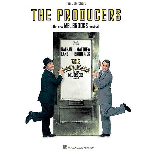 HAL LEONARD MEL BROOKS THE PRODUCERS - PVG