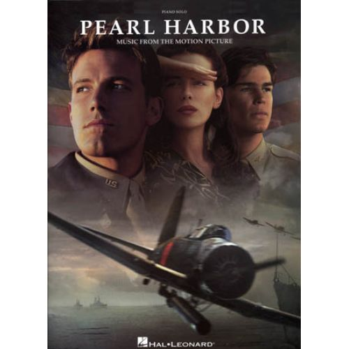 HAL LEONARD PEARL HARBOR MUSIC FROM THE MOTION PICTURE PIANO SOLO