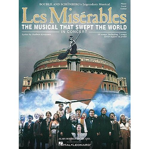 HAL LEONARD LES MISERABLES IN CONCERT - PIANO, VOICE, GUITAR - PVG