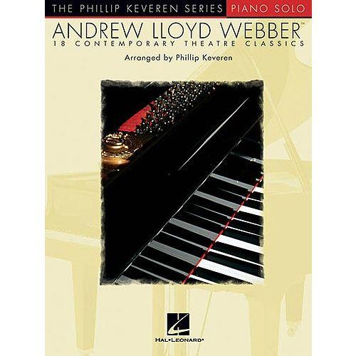 HAL LEONARD ANDREW LLOYD WEBBER 18 CONTEMPORARY THEATRE CLASSICS - PIANO SOLO