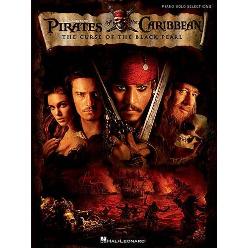 HAL LEONARD PIRATES OF THE CARIBBEAN PIANO SOLO SELECTIONS - HANS ZIMMER