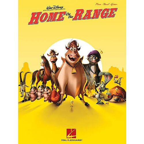 HAL LEONARD WALT DISNEY HOME ON THE RANGE - PVG