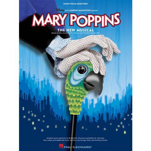 HAL LEONARD MARY POPPINS THE MUSICAL - PVG
