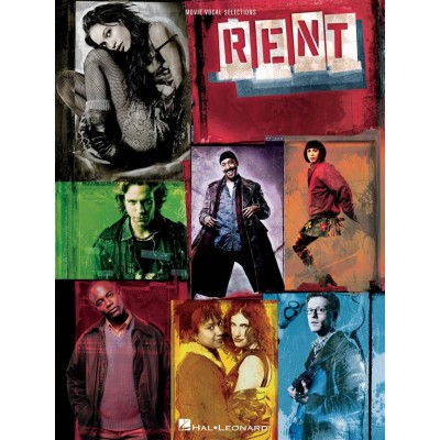 HAL LEONARD RENT: THE MOVIE (VOCAL SELECTIONS) - PVG