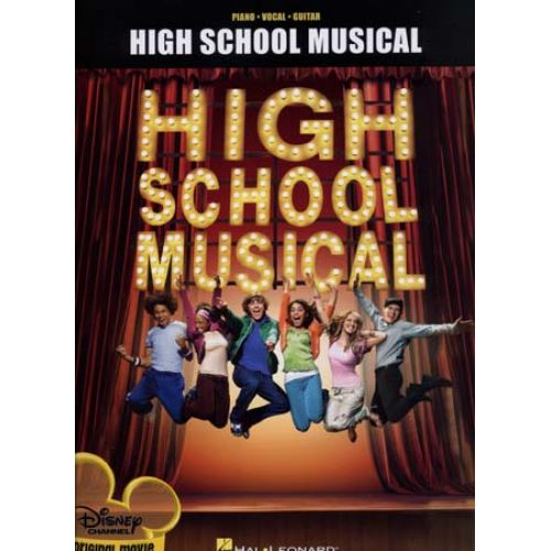 HAL LEONARD DISNEY - HIGH SCHOOL MUSICAL - PVG