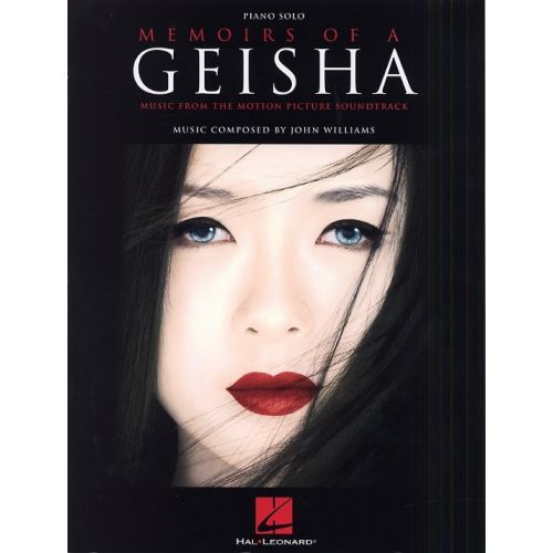 HAL LEONARD WILLIAMS JOHN - MEMOIRS OF A GEISHA - PIANO SOLO