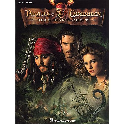 HAL LEONARD ZIMMER HANS - PIRATES OF THE CARIBBEAN - 2 DEAD MAN' CHEST - PIANO SOLO