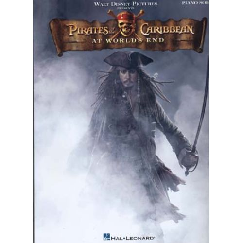 HAL LEONARD PIRATES OF THE CARIBBEAN 3 AT WORLD'S END - PIANO SOLO