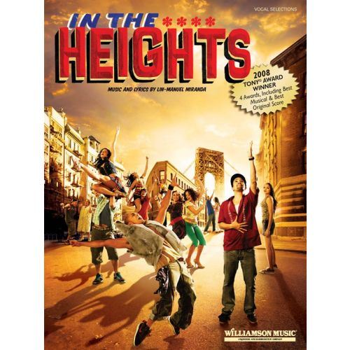 MUSIC SALES MIRANDA LIN-MANUEL - IN THE HEIGHTS - PVG