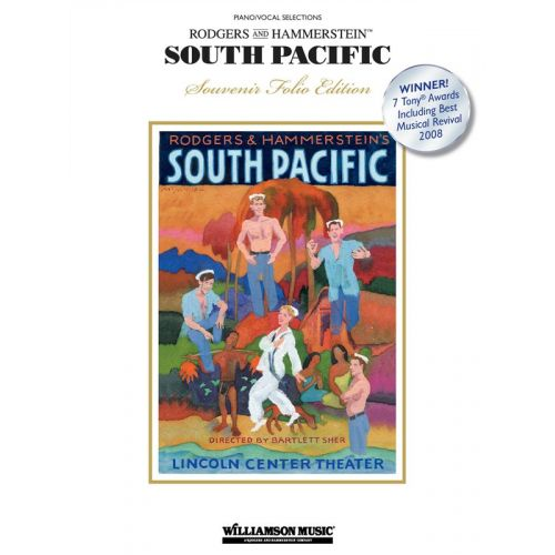 MUSIC SALES RODGERS AND HAMMERSTEIN - SOUTH PACIFIC SOUVENIR - PVG