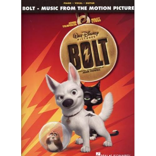 HAL LEONARD DISNEY BOLT FROM THE MOTION PICTURE PVG