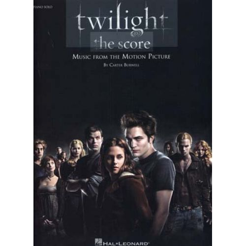 HAL LEONARD TWILIGHT MUSIC FROM THE MOTION PICTURE PIANO SOLO