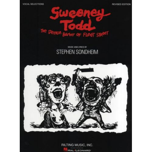 HAL LEONARD SONDHEIM STEPHEN - SWEENEY TODD REVISED EDITION