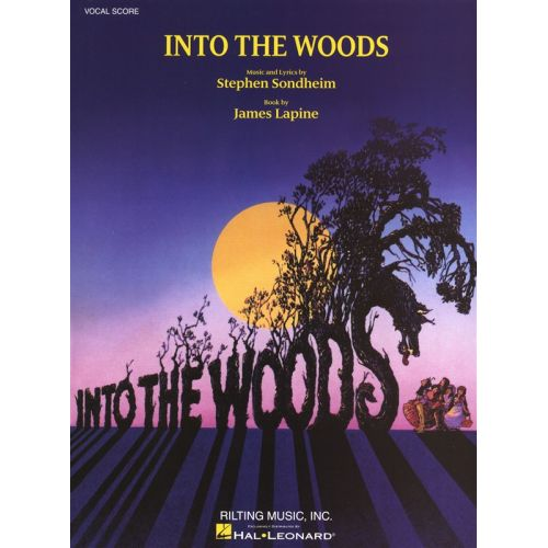 HAL LEONARD SONDHEIM STEPHEN INTO THE WOODS VOCAL SCORE - CHORAL