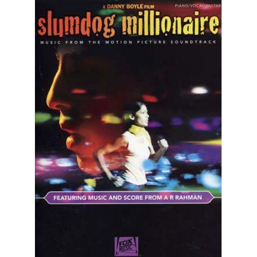 HAL LEONARD SLUMDOG MILLIONAIRE BOF - PVG