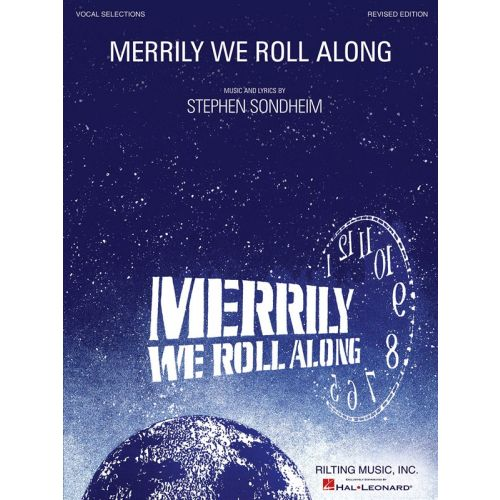 HAL LEONARD SONDHEIM STEPHEN - MERRILY WE ROLL ALONG - VOCAL SELECTIONS