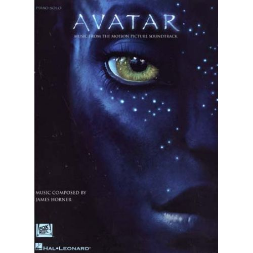 HAL LEONARD AVATAR MUSIC FROM THE MOTION PICTURE SOUNDTRACK - PIANO SOLO